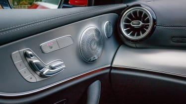 Mercedes E 400 d  Coupe - interior detail