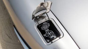 Jaguar E-Type Zero prototype - charging point
