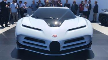 Bugatti Centodieci - full front Pebble Beach