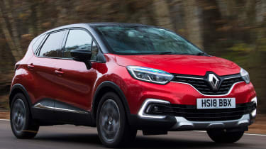 renault captur tracking front