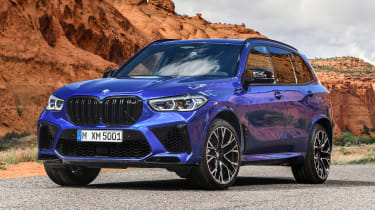 BMW X5 Competition - front static
