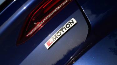 Twin test - VW Arteon - badge