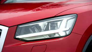 Audi Q2 - front light detail