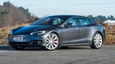 Tesla Model S - front static