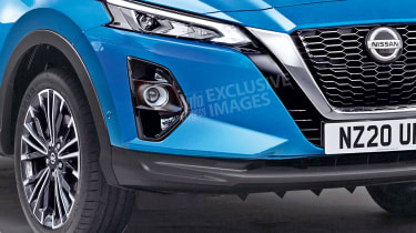 2020 Nissan Qashqai - front detail (watermarked)