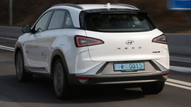 Hyundai NEXO rear white