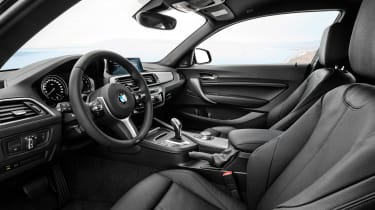 BMW 2 Series 2017 facelift cabin