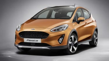 New 2017 Ford Fiesta Active - front