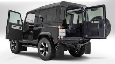 Overfinch Defender 40th Anniversary tailgate
