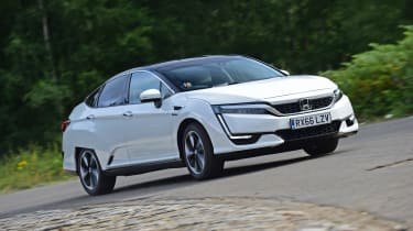 Honda Clarity - front cornering