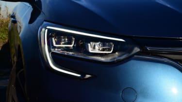 Renault Megane Sport Tourer - front light detail