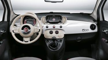 Fiat 500 facelift - interior