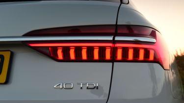 audi a6 avant rear lights