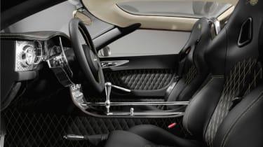 Spyker C8 Aileron - interior