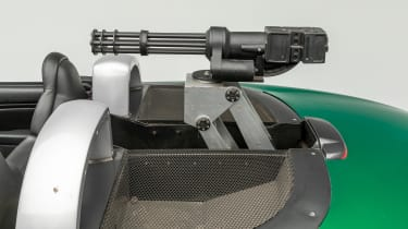 Petersen Automotive Museum - Jaguar XKR James Bond - machine gun