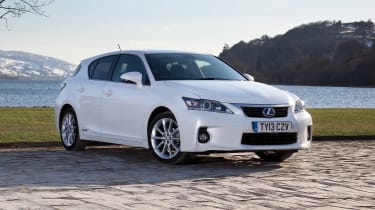 Used Lexus CT - front static
