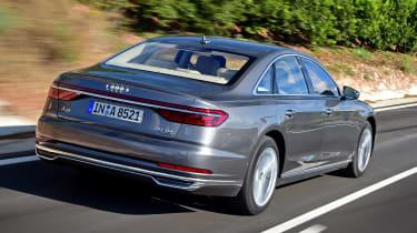 New Audi A8 2017 - rear
