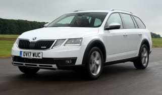 Tow car of the year 2018 -  Skoda Octavia front