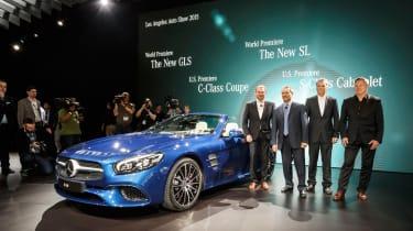 New Mercedes SL Roadster 2015 LA Show 4