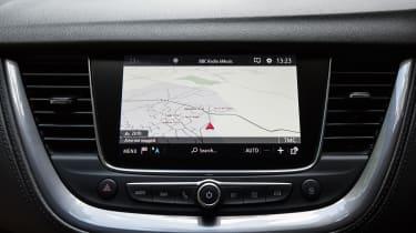Vauxhall Grandland X - navigation