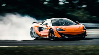 McLaren 600LT - drift