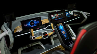 Bosch concept at CES 2017 - dashboard 2