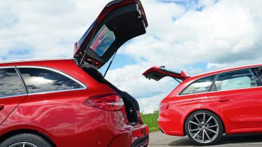 Mercedes-AMG C 63 Estate vs Audi RS4 - boots