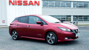 Nissan Leaf long termer first report - front