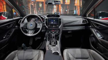 Subaru Impreza 2016 - saloon show interior