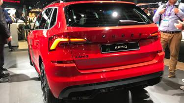 Skoda Kamiq Monte Carlo - rear 3/4 static Frankfurt