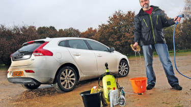 Volvo V40 rear static