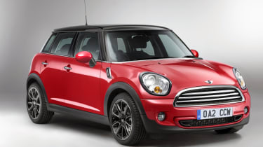 New MINI Hatch fornt