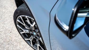 BMW X1 review - wheel