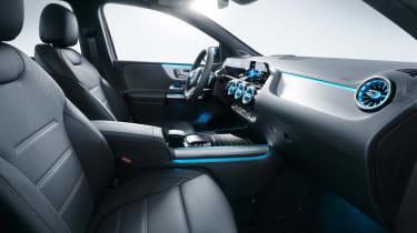 Mercedes B-Class - studio front seats