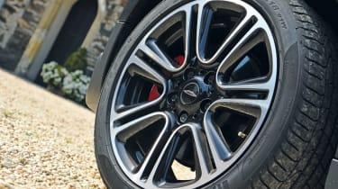 MINI JCW Countryman wheel detail