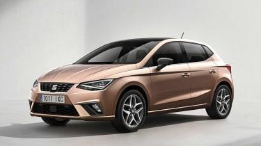 New SEAT Ibiza 2017 - beige front