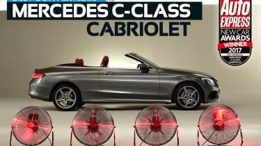 Convertible of the Year 2017 - Mercedes C-Class Cabriolet