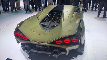 Lamborghini Sian - Frankfurt full rear