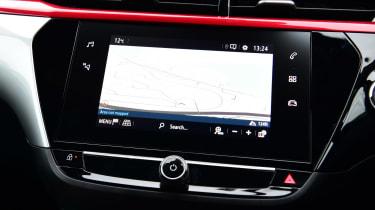 Vauxhall Corsa infotainment