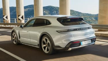 Porsche Taycan Cross Turismo - rear