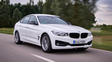 BMW 340i GT - front driving