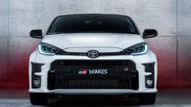 Toyota GR Yaris - full front