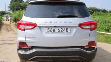 SsangYong Rexton - rear