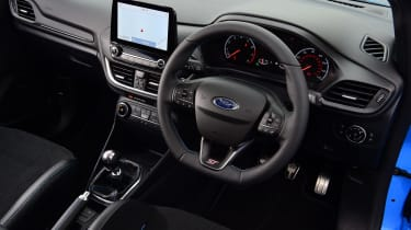 Ford Fiesta ST Edition - interior