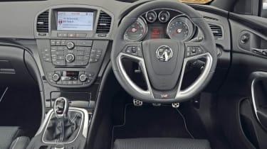 Vauxhall Insignia VXR interior