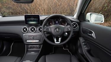 Mercedes A200d dash