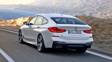BMW 6 Series Gran Turismo - rear