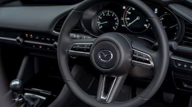 Mazda 3 saloon - steering wheel