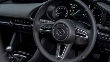 Mazda 3 saloon - steering wheel