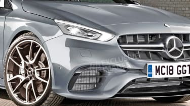 Mercedes-AMG A 45 - exclusive image front detail